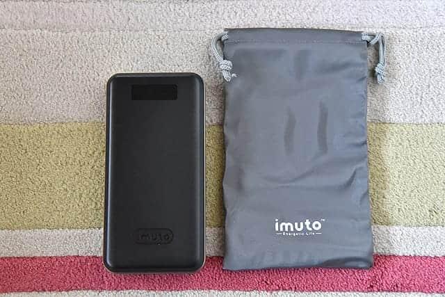 iMuto モバイルバッテリーとケース