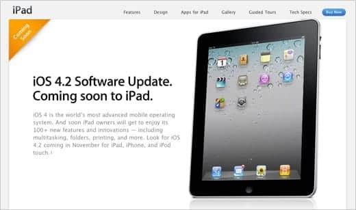 iOS 4.2アップデートは11月