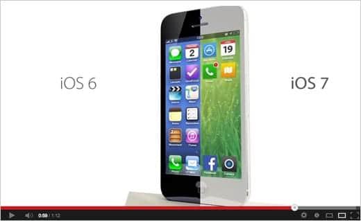iOS 7 コンセプト動画