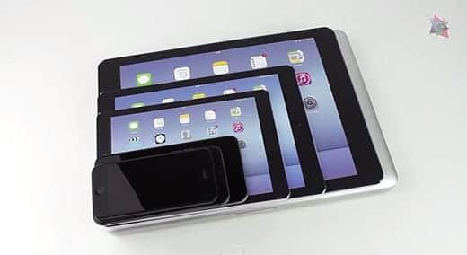 2015年に発売が噂されている12インチオーバーiPadの比較動画