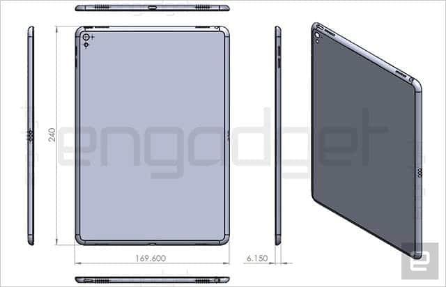 iPad Air 3は現行モデルよりわずかに大きくなる