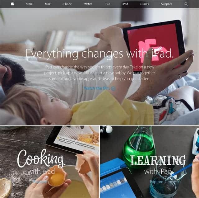 iPad Everything Change with iPad App