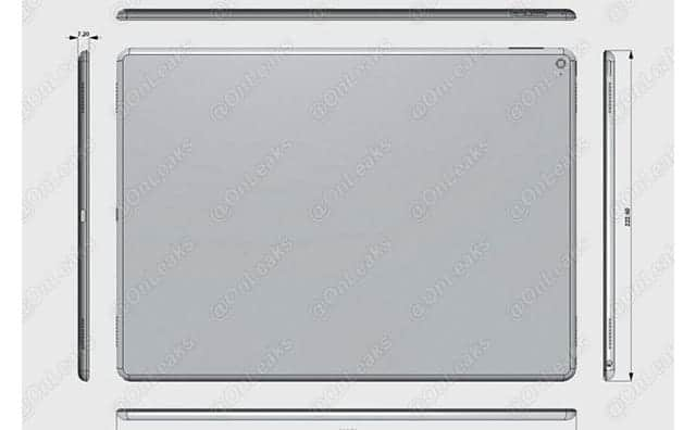 iPad Pro 12.9インチ 噂画像