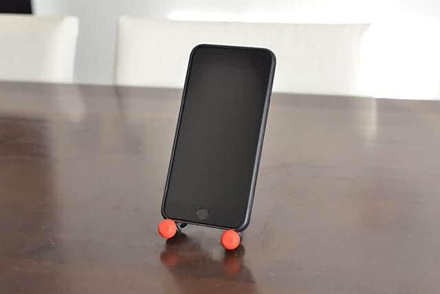 iPhone 6 Plusを縦置きでゴリラポッドに置いてみた。
