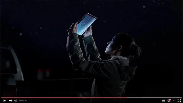 iPad Pro 新CM 重そうだ。