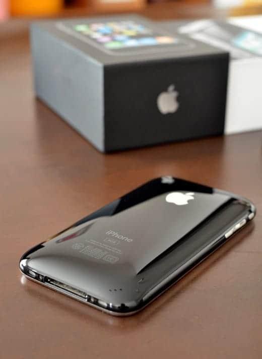 iPhone 3G 一番形は好きだった