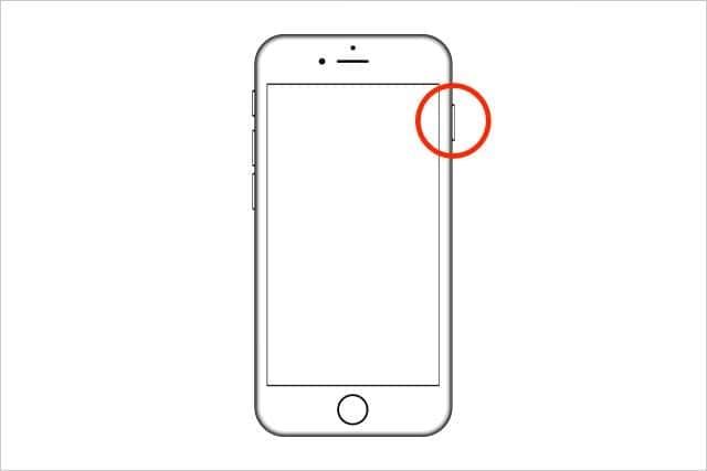 iPhone 普通の再起動方法