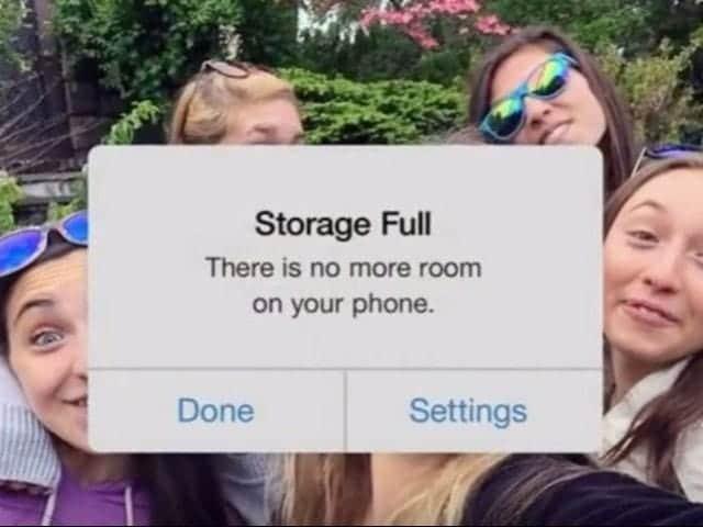 グーグルがiPhoneの容量不足をからかう動画を公開