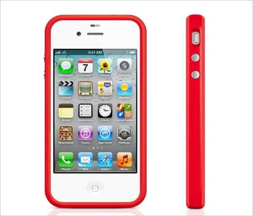 iPhone 4 Bumperに新色のプロダクト(RED)