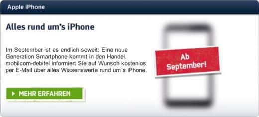 iPhone 5はやっぱり9月21日に発売みたいですよ〜♪
