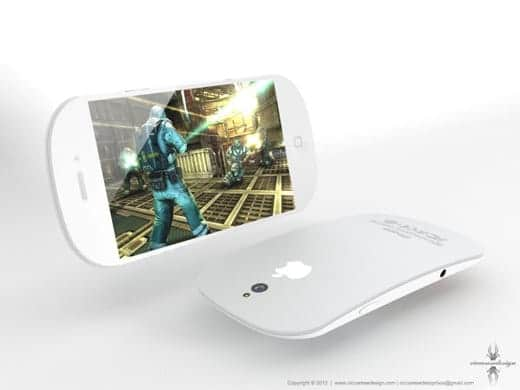 マジックマウス?iPhone 5の画像
