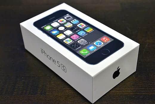 iPhone 5s 外箱