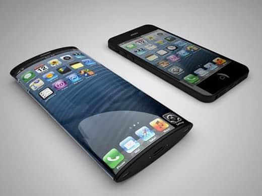 曲面ガラス採用の次世代iPhoneのレンダリング画像