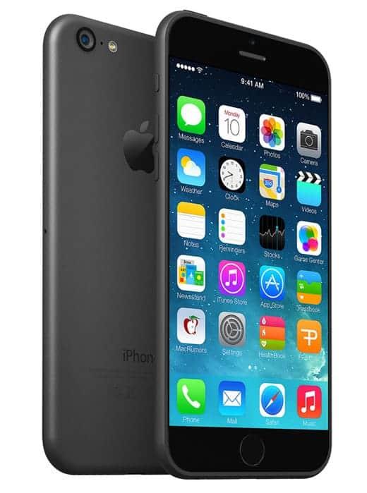 5.7インチモデルのiPhone 6