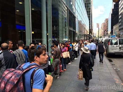 iPhone 6 アップルストア 米国の5番街