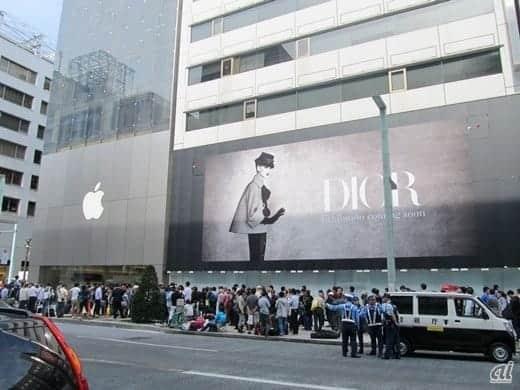 アップルストア銀座 iPhone 6発売