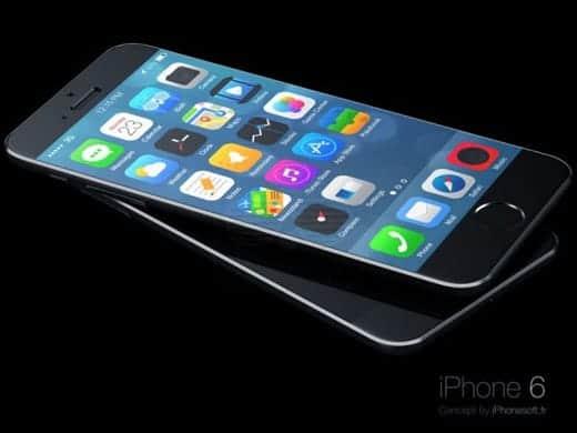 iPhone 6とiOS 8 予想画像