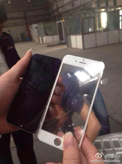 IPhone 6のフロントパネル流出