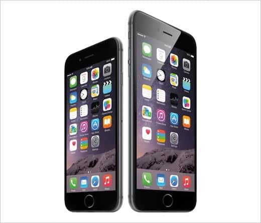 iPhone 6 と 6 Plus