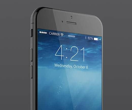 iPhone 6 美しいレンダリング画像