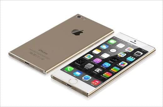 妄想iPhone 6 ゴールドモデル