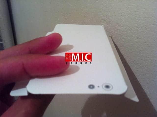 iPhone 6c ケース紙型画像