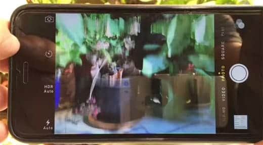 iPhone 6 Plus 背面カメラでピントが合わない不具合が発生
