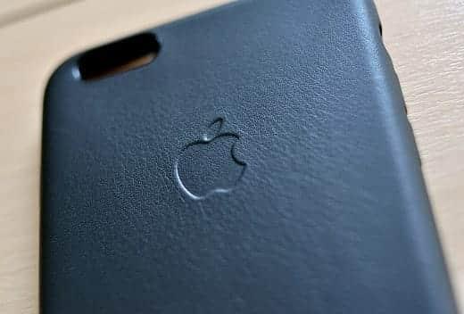 iPhone 6 Plus アップル純正レザーケース ブラック