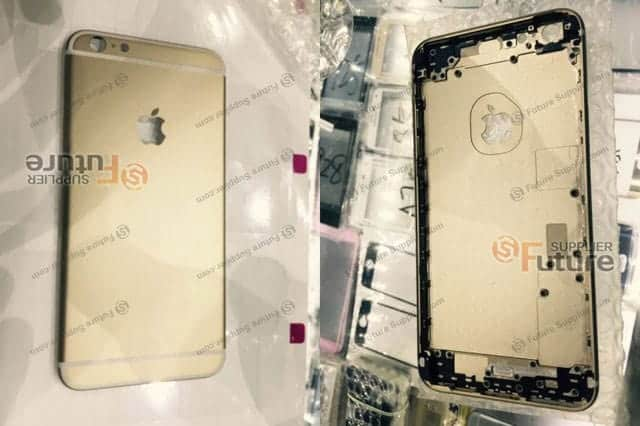 iPhone 6s Plus 背面ケース部品 流出画像