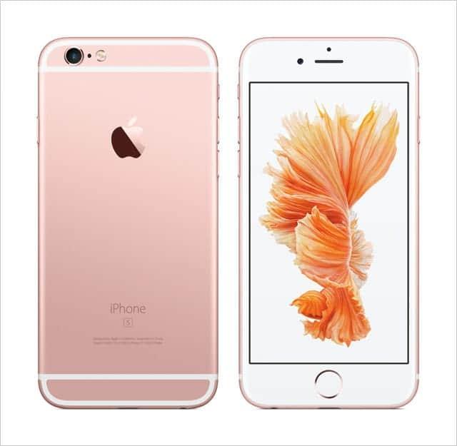 iPhone 6s ローズゴールド