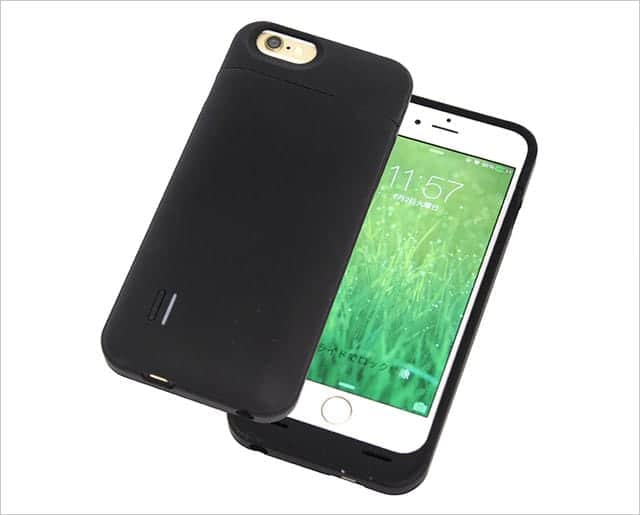 cheero Power Case for iPhone 6 / 6s 3000mAh バッテリー内蔵ケース