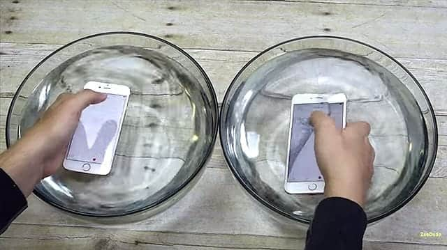 iPhone 6s 防水動画 いよいよ水の中へ!