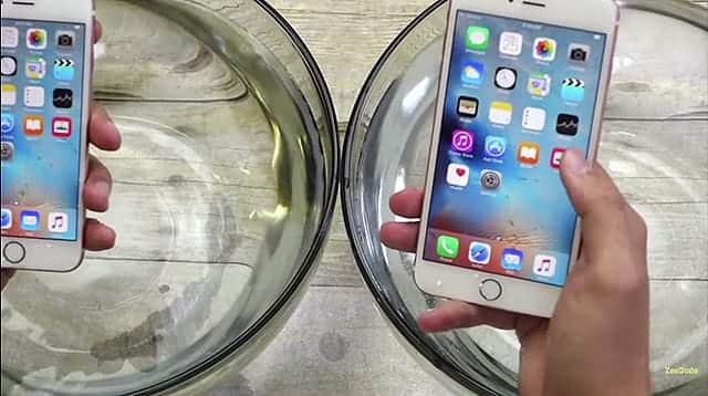 iPhone 6s 防水動画 30分経過