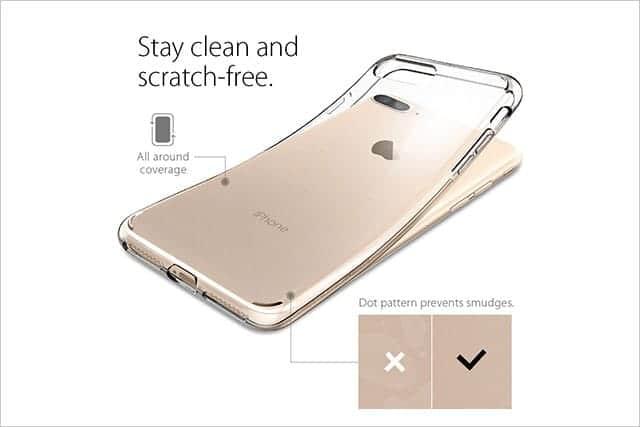 Spigen iPhone 7 ケース リキッド・クリスタル
