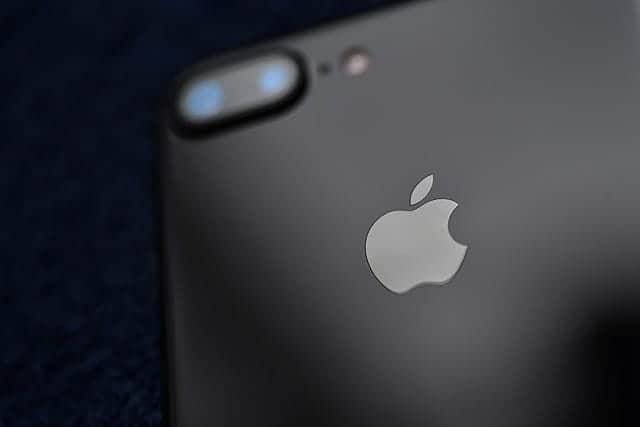 iPhone 7 Plus ジェットブラックの写真