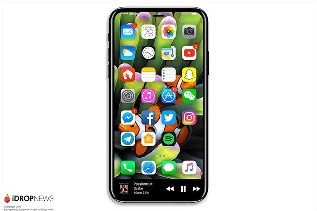 iPhone 8は画面内蔵型Touch IDとホームボタンの廃止が濃厚