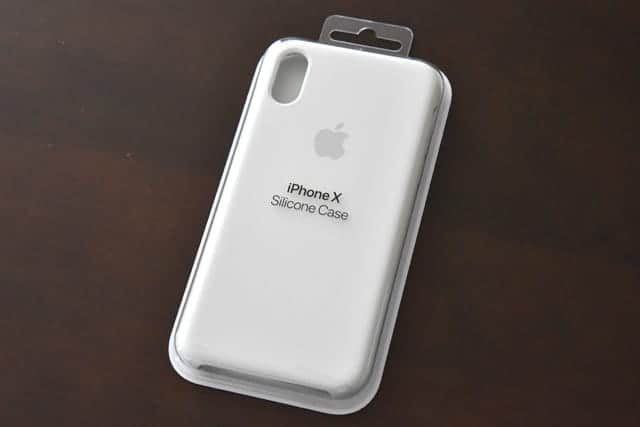 iPhone X 専用 Apple純正シリコンケース パッケージ