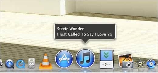 iTunesで再生中のアーティスト名と曲名をポップアップ表示させる