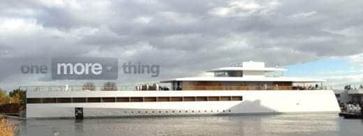 ジョブズがデザインした船 Venus