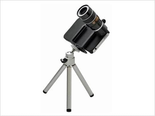 ケンコー iPhone4/4S用 5倍太陽撮影キット KSG-M5 日食 金環日食