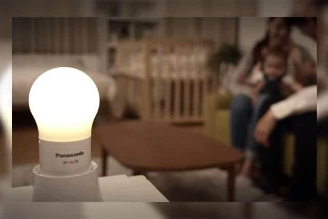 夜中の授乳・おむつ替えに便利なLED照明『球ランタン』熱くならないから赤ちゃんが触っても安心