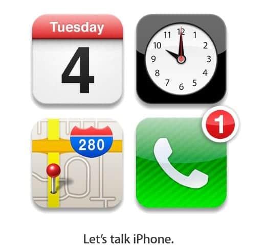 Let's talk iPhone アップルイベントが開催