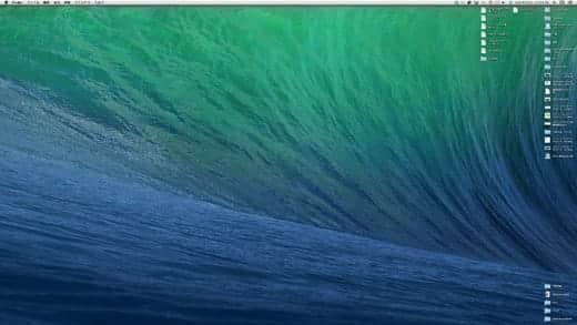 OS X Mavericks 壁紙