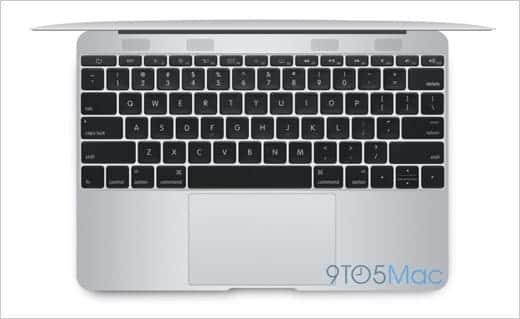 MacBook Air 12インチ キーボードがビッチリ