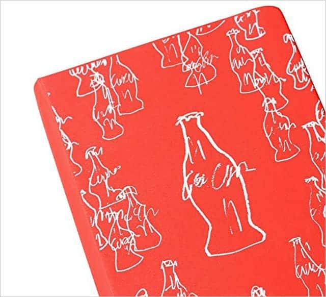 限定版 コカ・コーラ ノートブック|ハードカバー プレーン(無地) ポケット