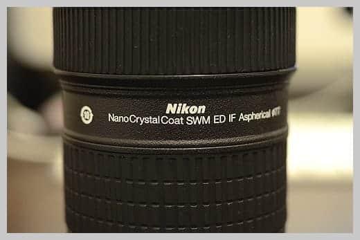 ニッコールタンブラー ナノクリスタルコートの文字