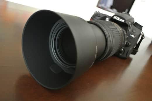 NIKKOR 55-300mm + D700