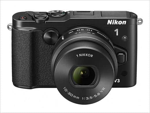 Nikon 1 V3 ボディとレンズ