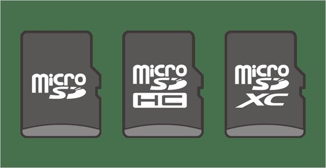 Nintend Switchで使えるmicroSDカード