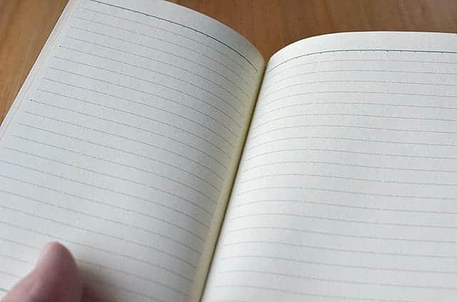 付属のメモ帳